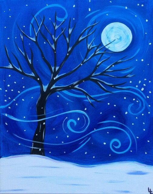 winter painting6